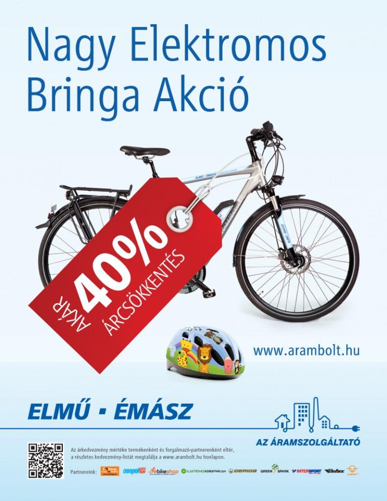 7cc3983d12c4 Nagy Elektromos Bringa Akció: most még olcsóbb a zöld közlekedés